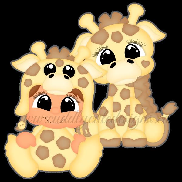 Besties-Giraffe