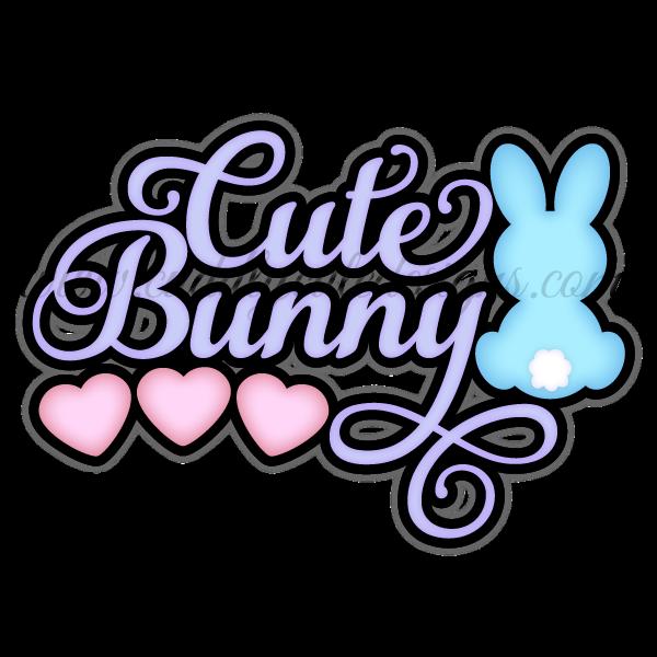Cute Bunny Title