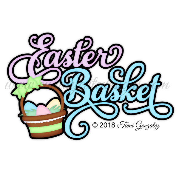 Easter Basket Title