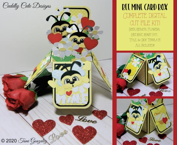 Bee Mine Card Box
