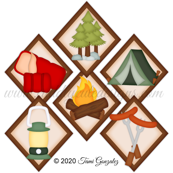 Camping Tokens 2