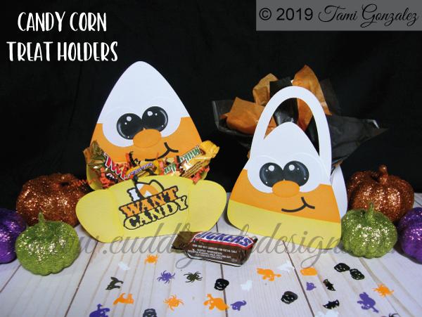Candy Corn Treat Holders