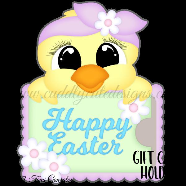 Chick Gift Card Holder