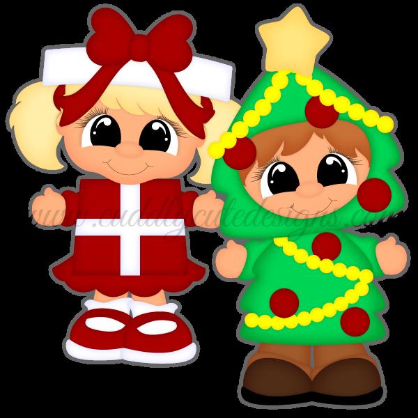 Christmas Play - Present & Tree