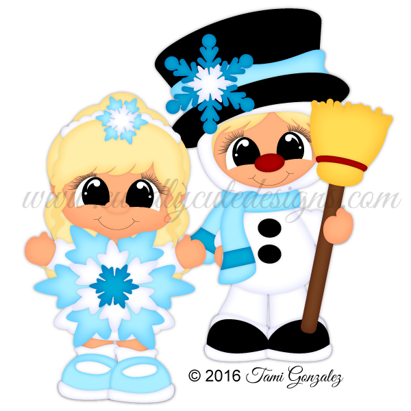 Christmas Play - Snowman N Snowflake