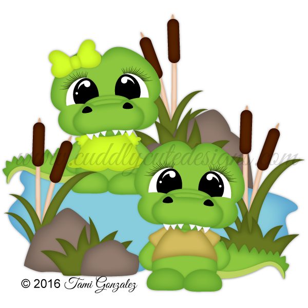 CutieKins-Alligators