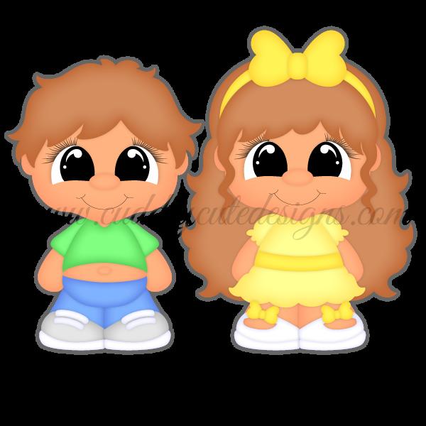 CutieKins-Billy & Chloe