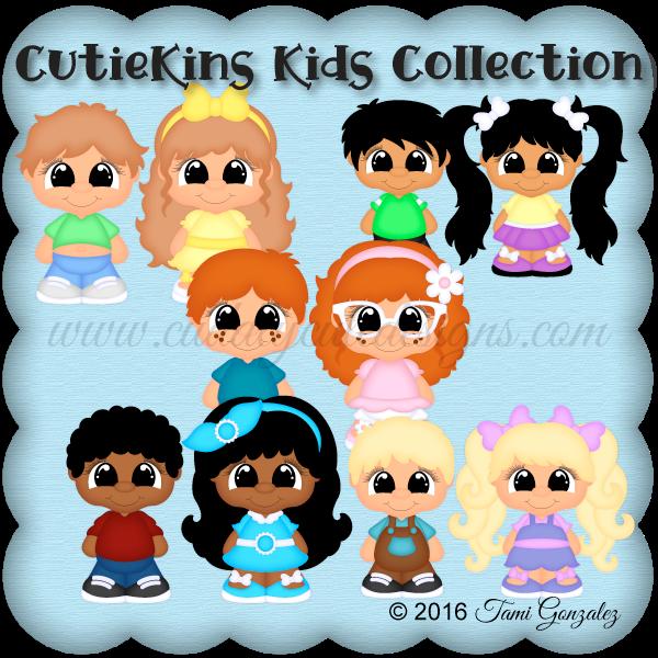 CutieKins Kids Collection
