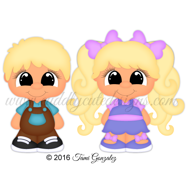 CutieKins-Mason & Sophie