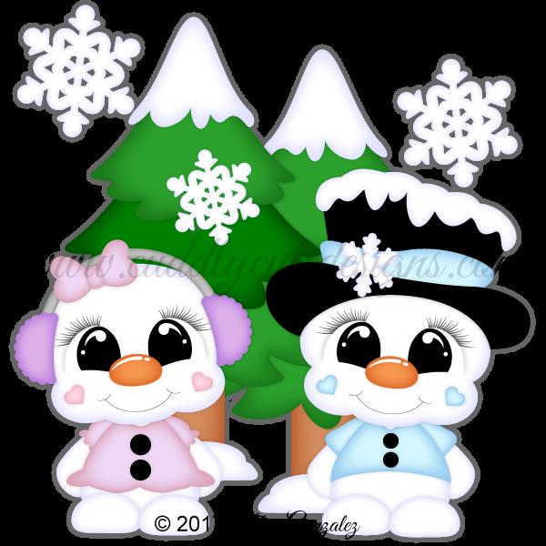 CutieKins-Snowmen
