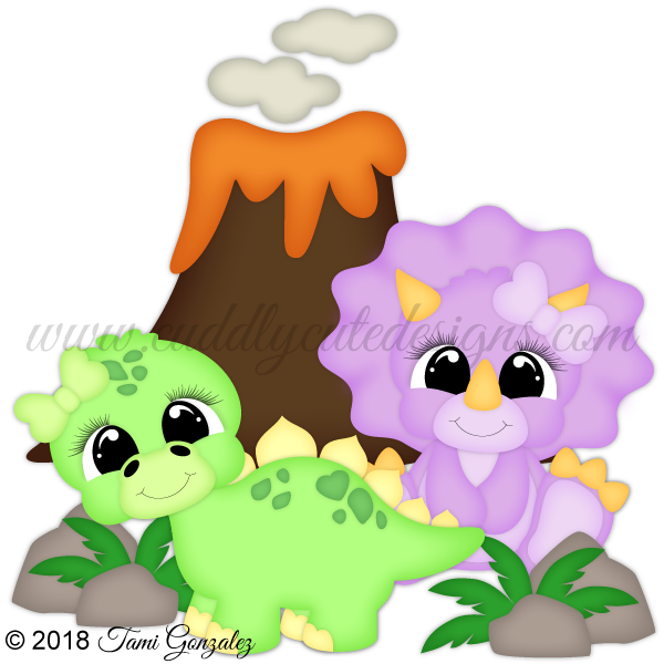 Dinosaur Cuties - Girls