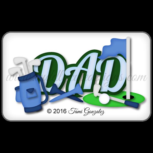 Golf Dad Title