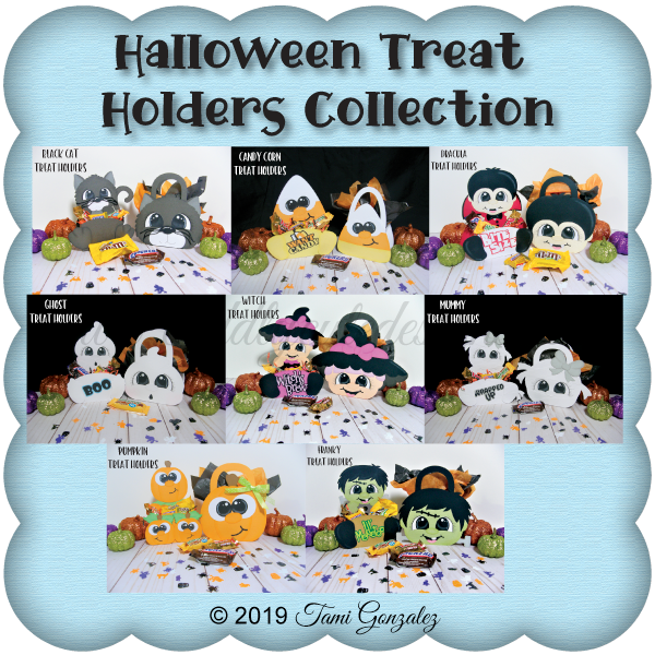 Halloween Treat Holders Collection