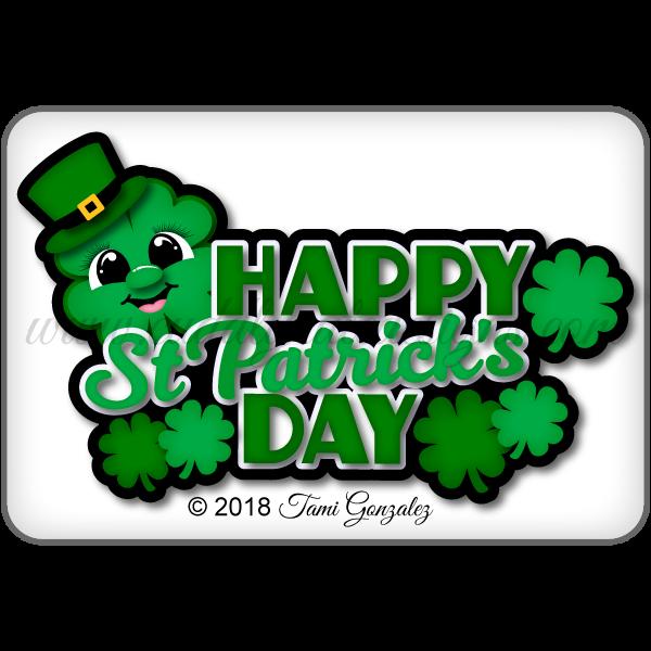 Happy St Patrick's Day Title