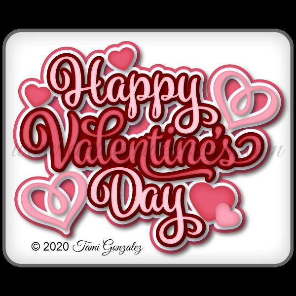 Happy Valentine's Day Title