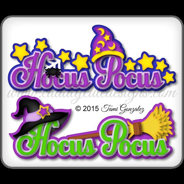 Hocus Pocus Titles