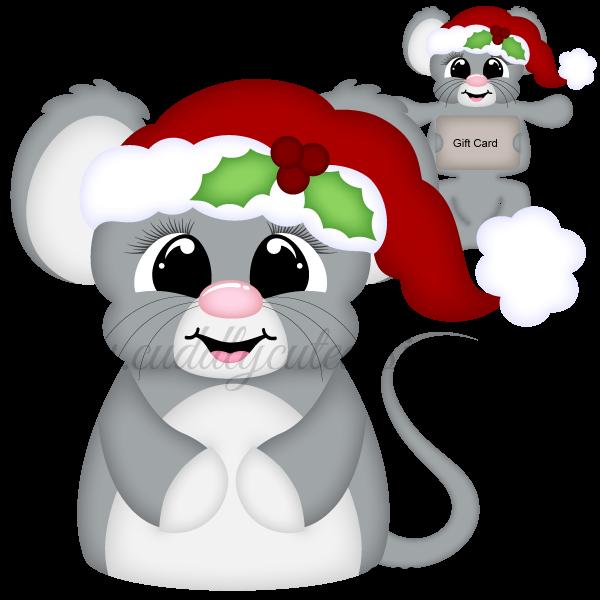 Huggable Christmas Mouse