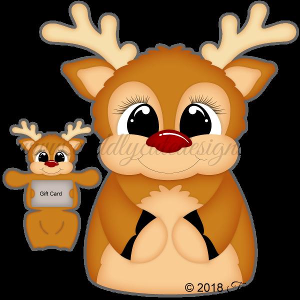 Huggable Reindeer