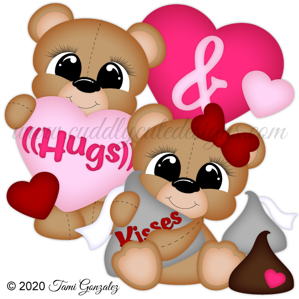 Hugs & Kisses Bears