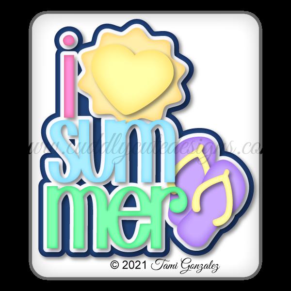 I Love Summer Title