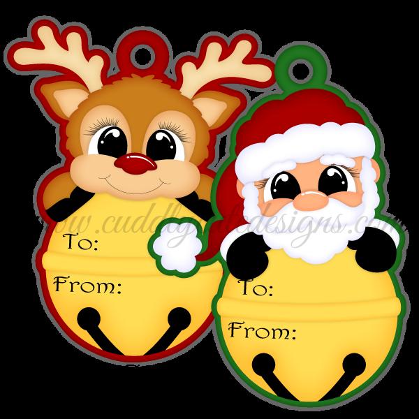 Jingle Bell Tags 1