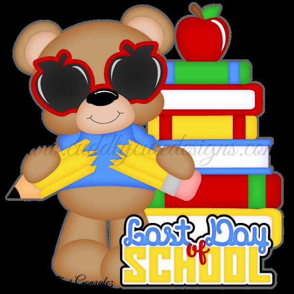 Last Day of School Bear