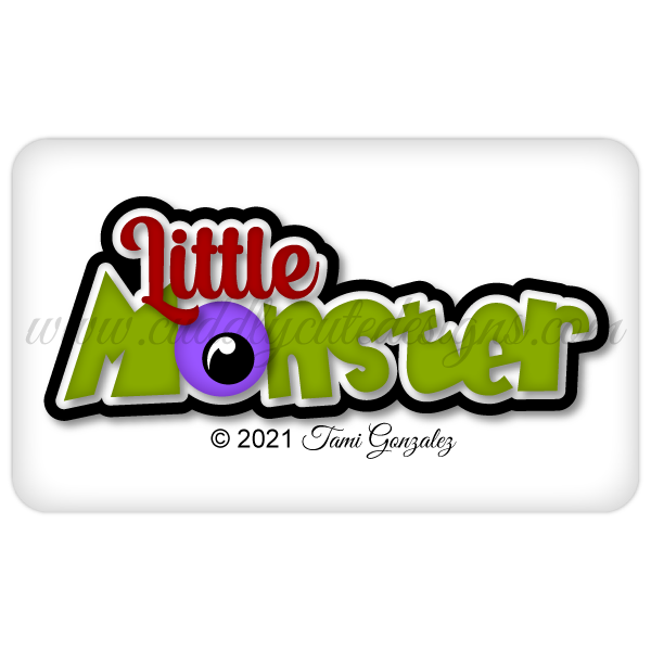 Little Monster Title