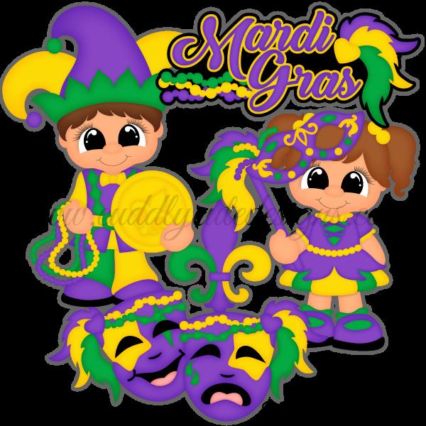 Mardi Gras Cuties