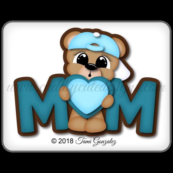 Mom Boy Bear Title