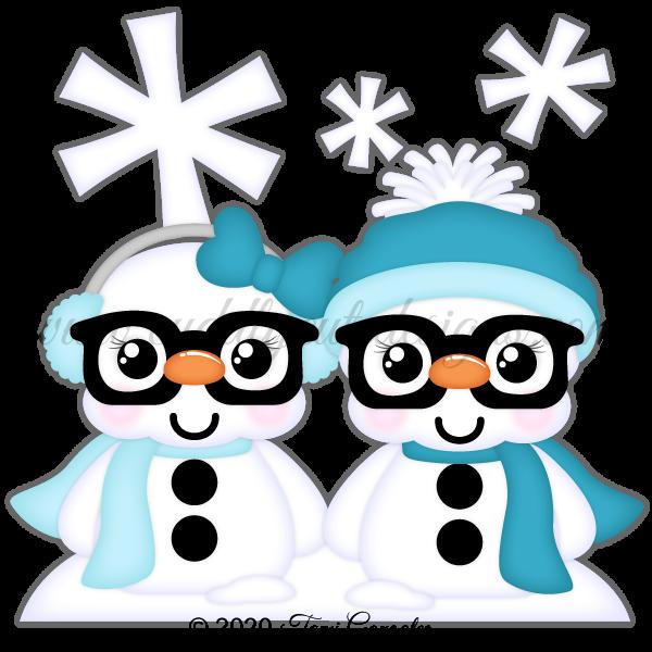Nerdies Snowmen