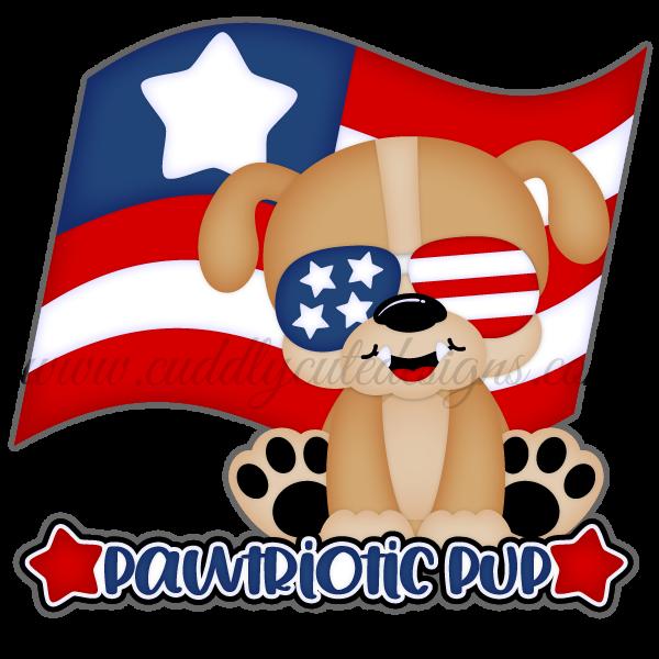 Pawtriotic Pup