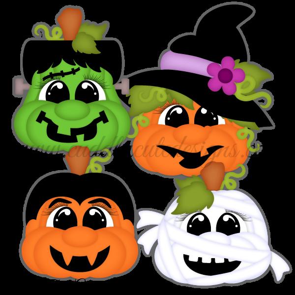 Pudgie Face Pumpkins