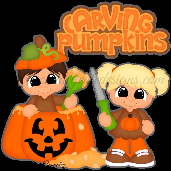 Pumpkin Carving Cuties