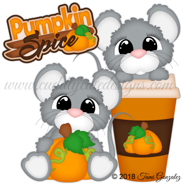 Pumpkin Spice Mice