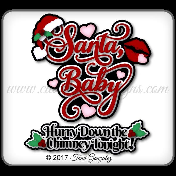 Santa Baby Title