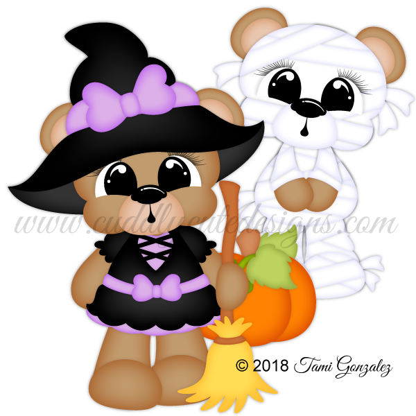 Scare Bears - Witch & Mummy