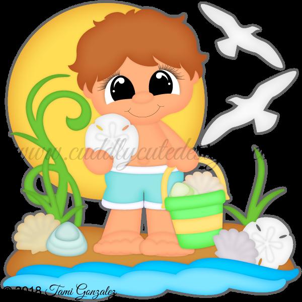 Seashells-Boy