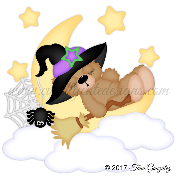 Sleeping Witch Bear