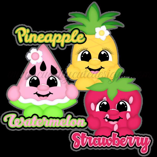 Summer Fruit Cuties