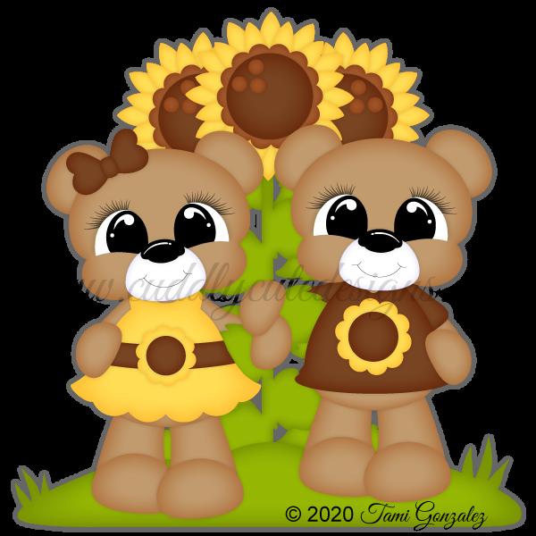 Sunflower Bears