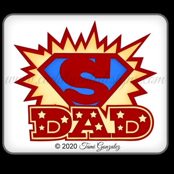 Super Dad Title