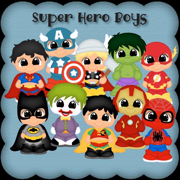 Super Hero Boys