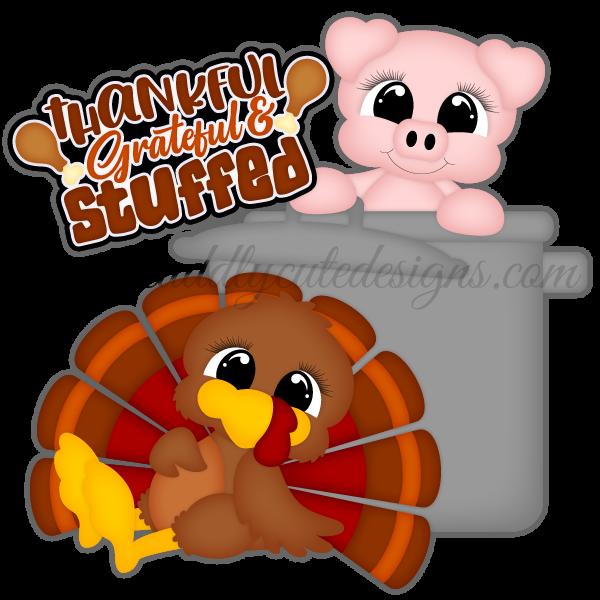 Thankful, Grateful, & Stuffed