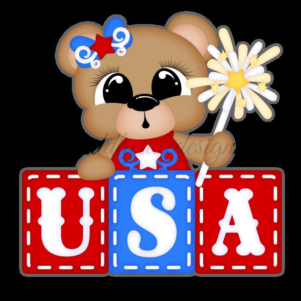 USA Bear - Girl