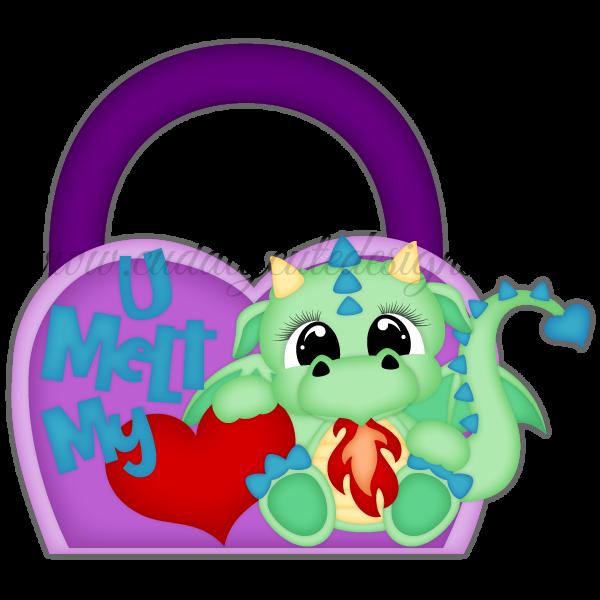 VDay Dragon Treat Bag