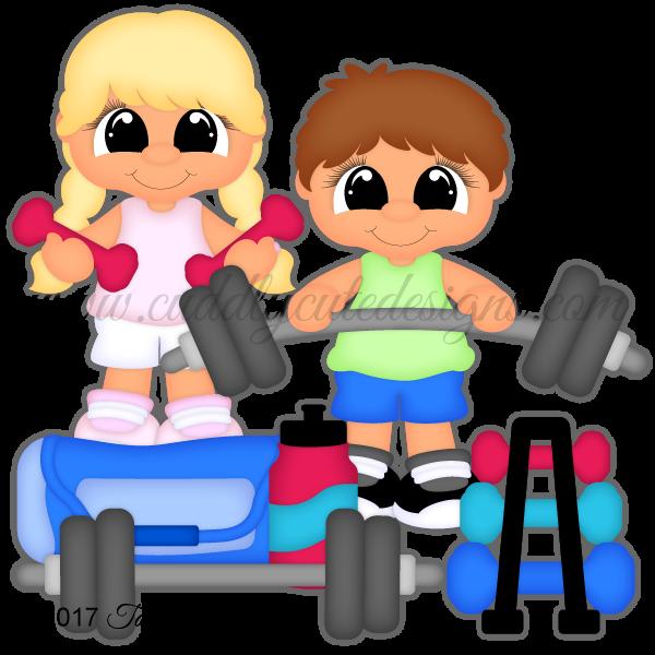 Weight Lifting Cuties