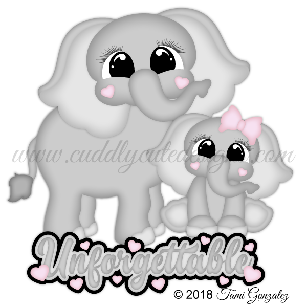 Zoo Cuties - Elephants