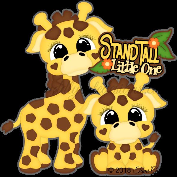 Zoo Cuties - Giraffes
