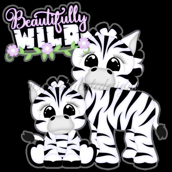 Zoo Cuties - Zebras